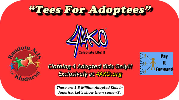 Exclusive Clothes 4 Adopted Kids Only: @4akonly